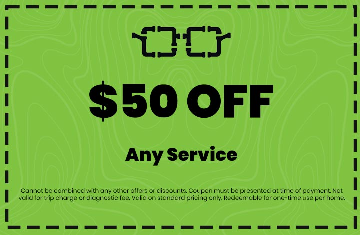 Discounts on Any Service