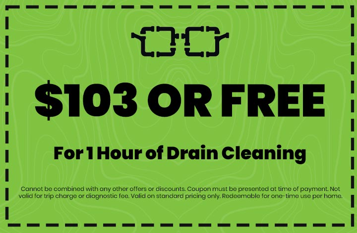 Discounts on For 1 Hour of Drain Cleaning