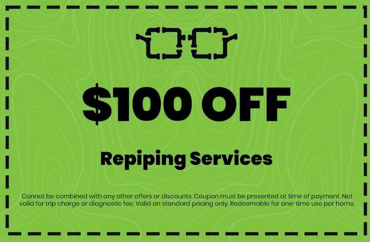 Discounts on Repiping Services