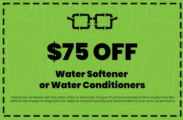 Discounts on Water Softener or Water Conditioners